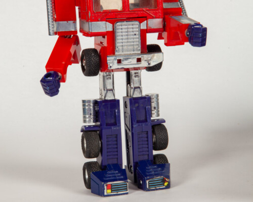 Early Optimus Prime transformer. Transformed in to the robot.